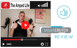 Amputee Chris Olivier reviews smartcrutch video on Youtube