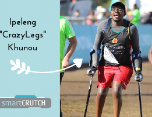 eNews#7 Ipeleng 'Crazylegs' runs marathons on smartCRUTCH