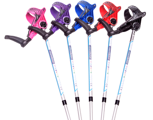 junior smart crutches in all colors