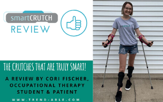 Guest review on using smartCRUTCH junior by Cori - found on trend-able.com