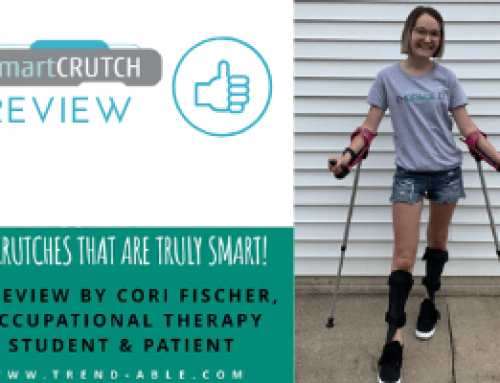 Crutches that are truly smart