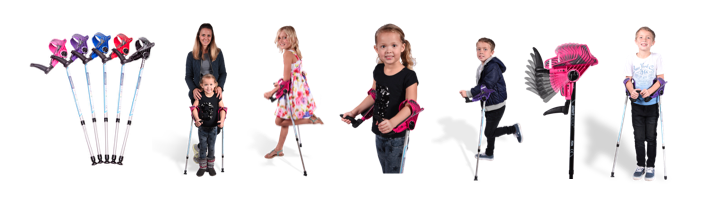 smartCRUTCH junior, crutches for kids