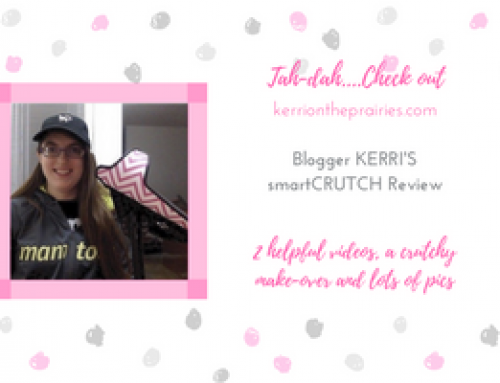 Blogger Kerri on the Canadian Prairies reviews smartCRUTCH